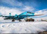 Истребитель Су-34 отлично показал себя на учениях в арктических условиях
