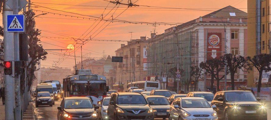 «Умная» система управления дорожным движением в Рязани работает лишь на 30 процентов