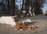 В Рязани до конца апреля перекроют движение по Бульварному переулку