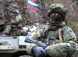 В Азербайджане возмутились парадом российских военных в Ханкенди