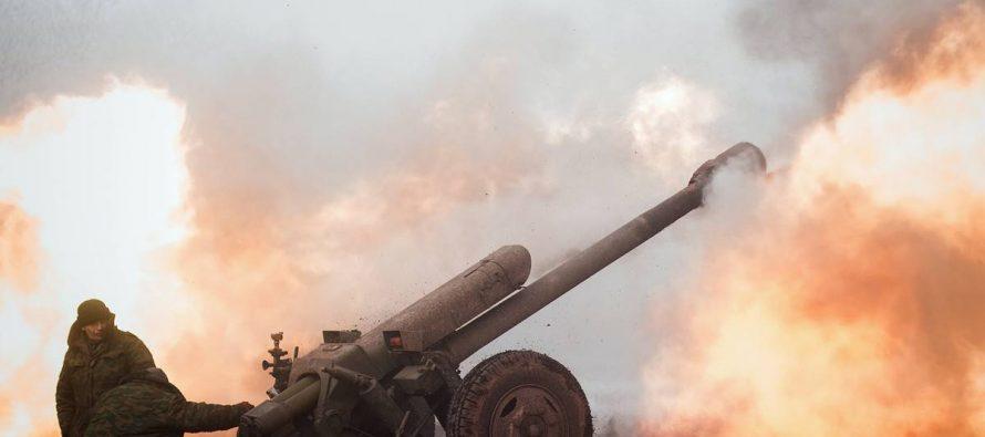 ВСУ после отвода российских войск обрушили мощные удары на ДНР и ЛНР