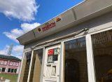 На Лыбедском бульваре в Рязани поставили ржавый торговый павильон