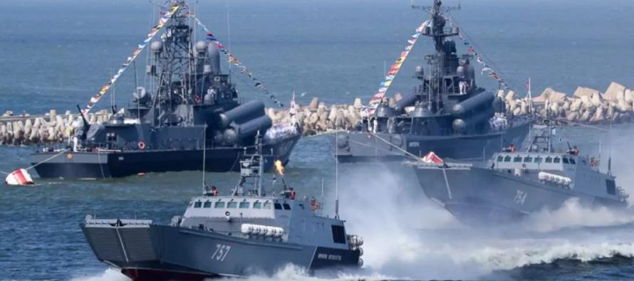 Японские ВМС попытались перехватить 4 российских корабля вЦусимском проливе