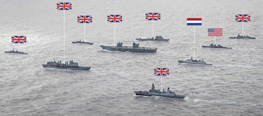 Крупнейшая группировка кораблей НАТО систребителями F-35 направляется в сторону Крыма и базы ВМФ России вСирии