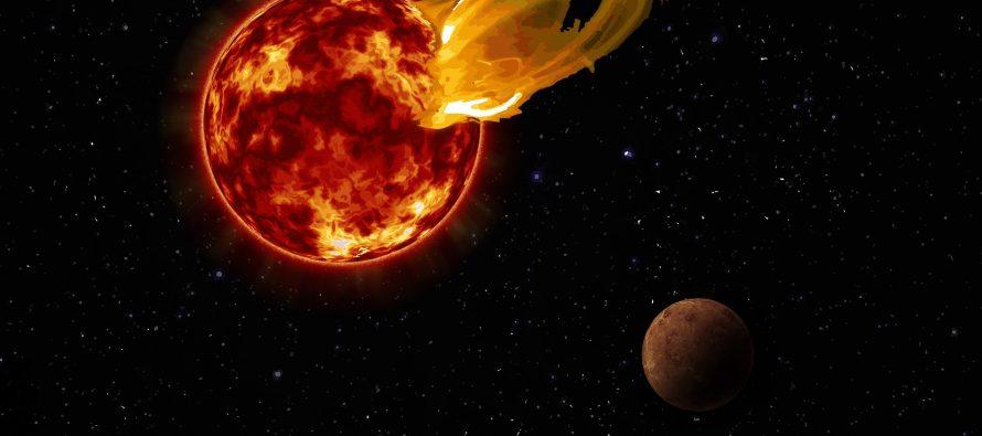 Астрофизики: инопланетяне вблизи Солнечной системы погибли из-за вспышки звезды