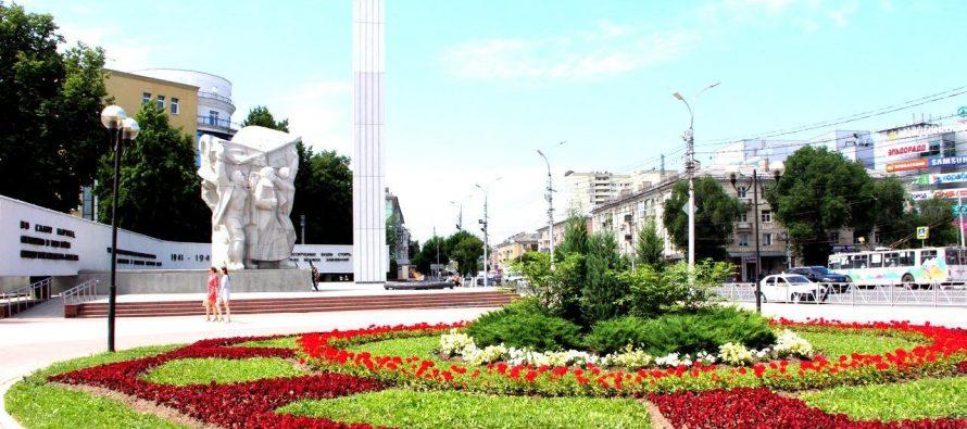 В Рязани ко Дню Победы высадят 10 тысяч цветов