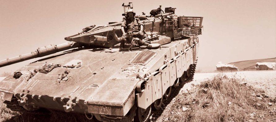 Ударом из российского ПТРК «Корнет» у израильского танка «Меркава» снесло башню