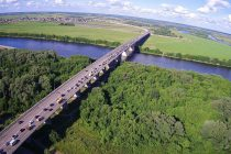 Рязанских водителей уведомили об ограничении движения по Солотчинскому мосту до среды