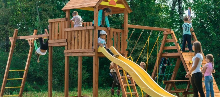 В Рязани объявлен конкурс на строительство детского игрового комплекса на ул. Коняева