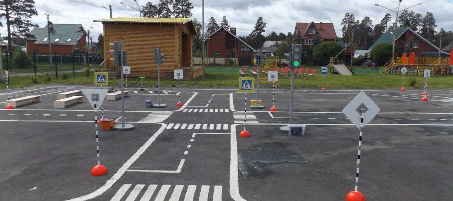 В рязанском ЦПКиО торжественно открыли детский автогородок