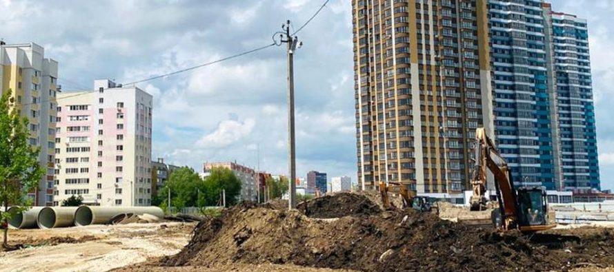 Группа народного контроля проинспектировала строительство новой школы в Кальном