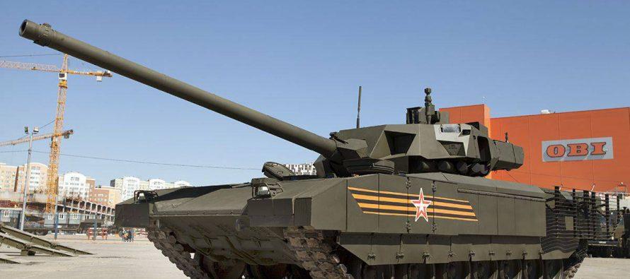 Сверхсекретный танк «Армата» оснастят снарядами с урановым сердечником