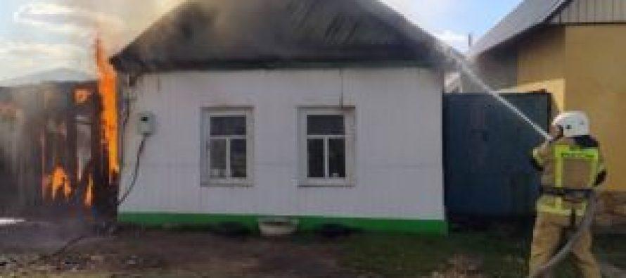 Припожаре вКлепиковском районе пострадала шестилетняя девочка