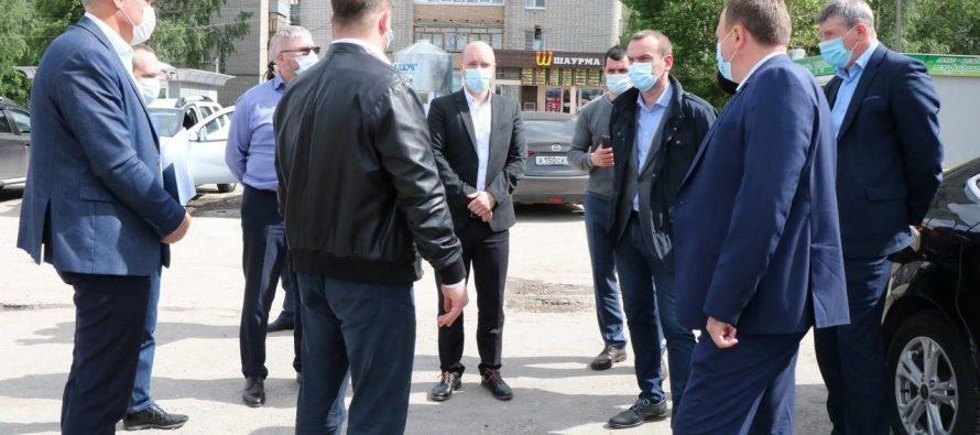 Евгений Беленецкий возглавил инспекционные рейды по дворам Рязани