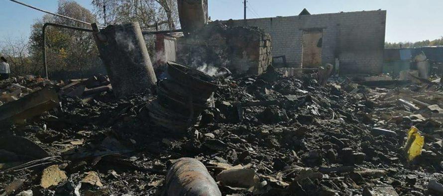 В Скопинском районе в зоне ЧС поймали мародеров, собиравших металлолом