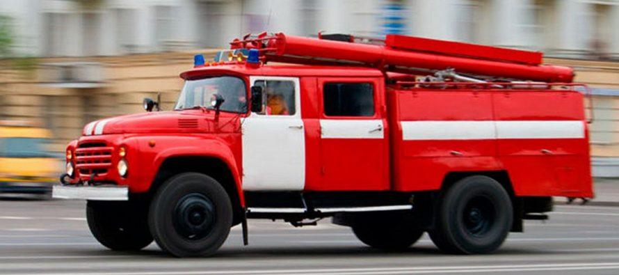В Рязани на пересечении Черновицкой и Щорса загорелась теплотрасса