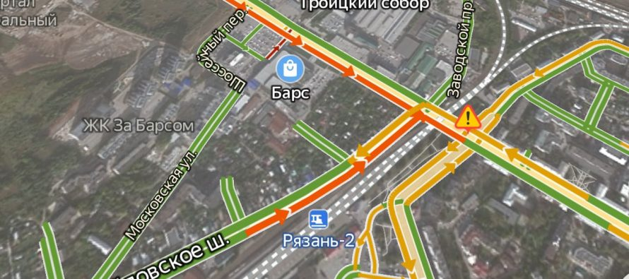 С 25 июня по 10 июля в Рязани перекроют движение по одной полосе Михайловского шоссе
