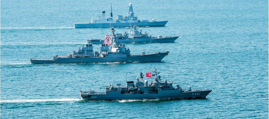Корабли НАТО на учениях Sea Breeze-2021 могут ворваться в территориальные воды РФ