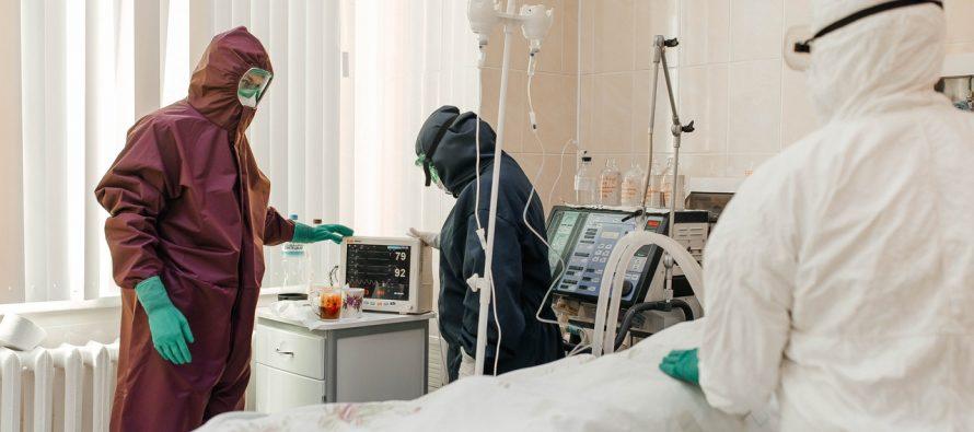 В больницах Рязанской области находится 407 пациентов с Covid-19