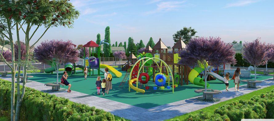 Ну ул. Зубковой в Рязани начинается строительство современной игровой площадки для детей