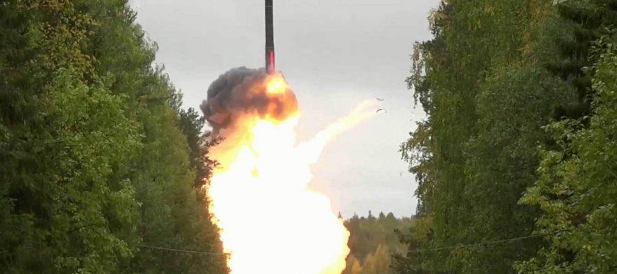 The Sun: В ответ на провокации и учения НАТО в Черном море Путин испытал новейшую ядерную ракету