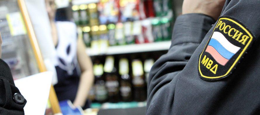Полиция Рязанской области выявила 21 случай нелегальной торговли алкоголем 1 июня