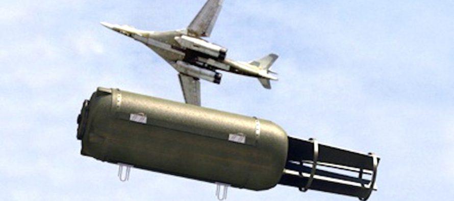 «Папа всех бомб»: США пришли в ужас из-за термобарического оружия России