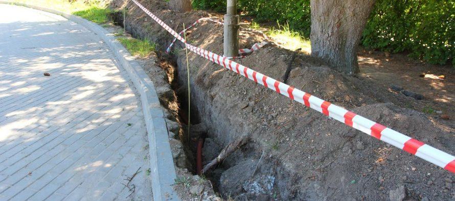 В Центральном парке в Рязани 15 июля заработает освещение