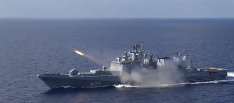 Британский военный корабль покинул Черное море после залпов российских ракетных комплексов
