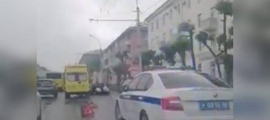 В Рязани на улице Циолковского «Газель» сбила двух женщин