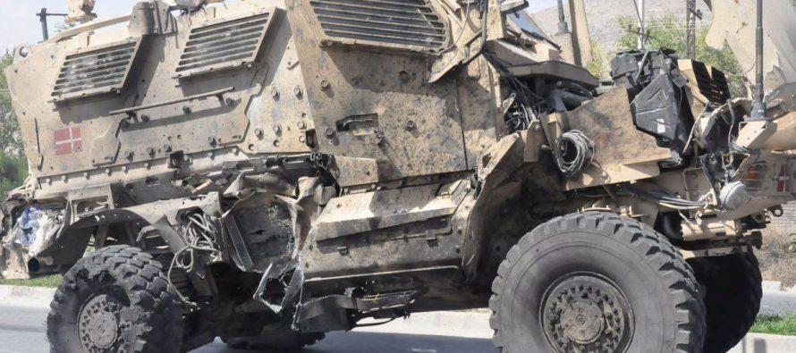 Ракета разорвала на части американский броневик MaxxPro на севере Ирака