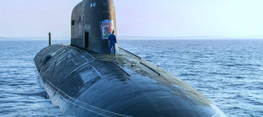 Новая подводная лодка Северного флота РФ вселяет ужас в американцев