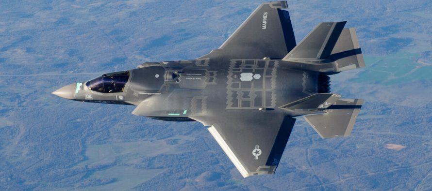 Российские РЭБ нанесли удар по итальянскому F-35 во время учений НАТО