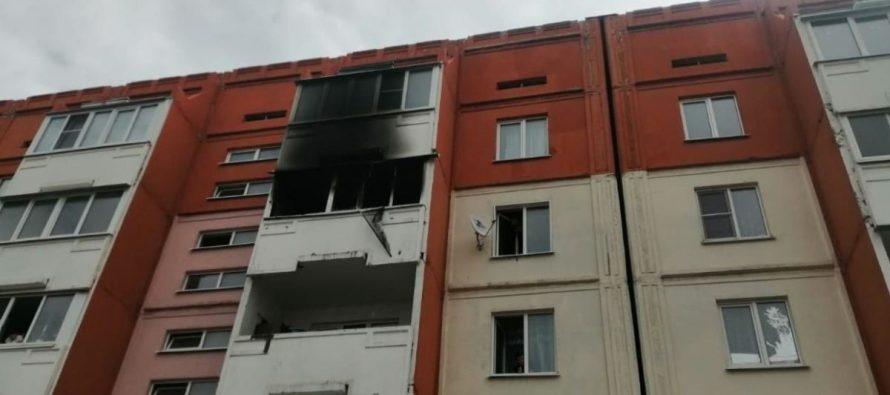 В Сасове на пожаре в пятиэтажном доме эвакуировали 15 человек