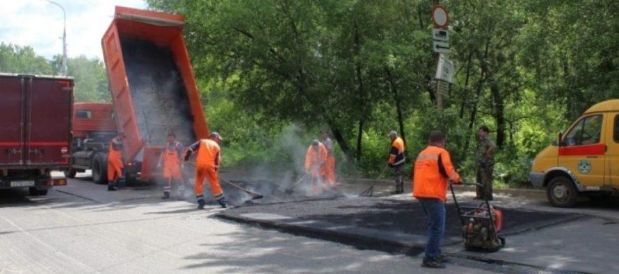 На ремонт дорог Рязань получит из областного бюджета 1,1 млрд рублей
