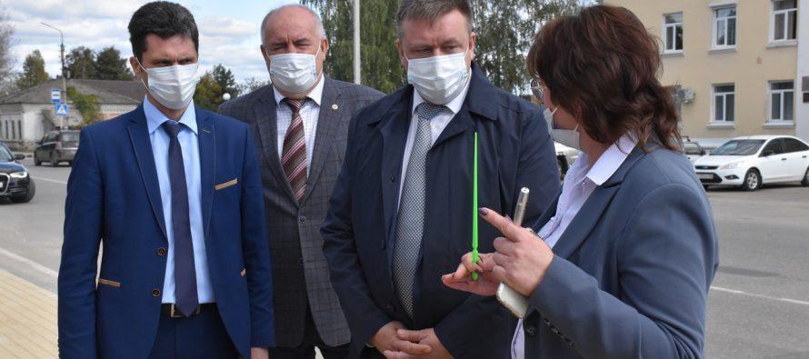 Николай Любимов обсудил с депутатами Сасово проблемы развития района