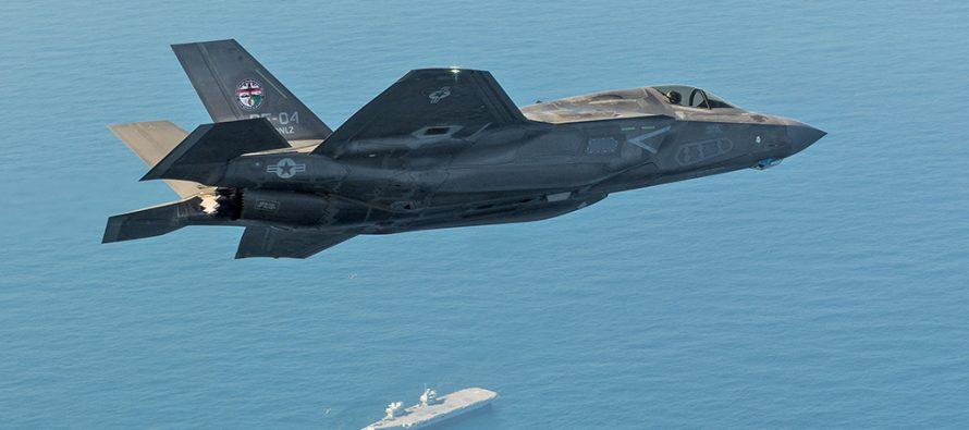 Sohu: Британия снова опозорилась из-за провокации F-35B в Средиземном море