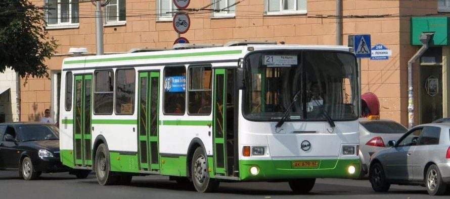 В Рязани автобус №21 пойдет по совершенно новому маршруту
