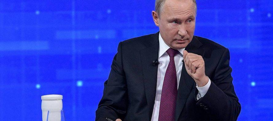 Британцы бурно отреагировали на заявление Путина о риске новой мировой войны
