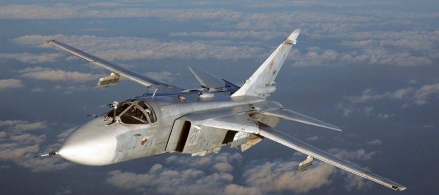 Россия ответила на провокацию «Дефендера» массированными ударами истребителей и бомбардировщиков по надводным целям