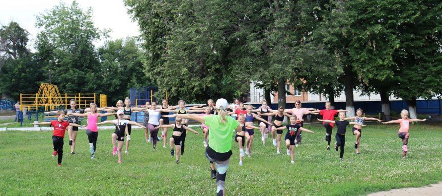 В Рязани стартовал марафон фитнес-зарядок «Полезное утро»