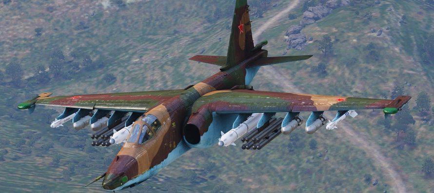 Baijiahao: Трюк России со штурмовиками Су-25 удивил США