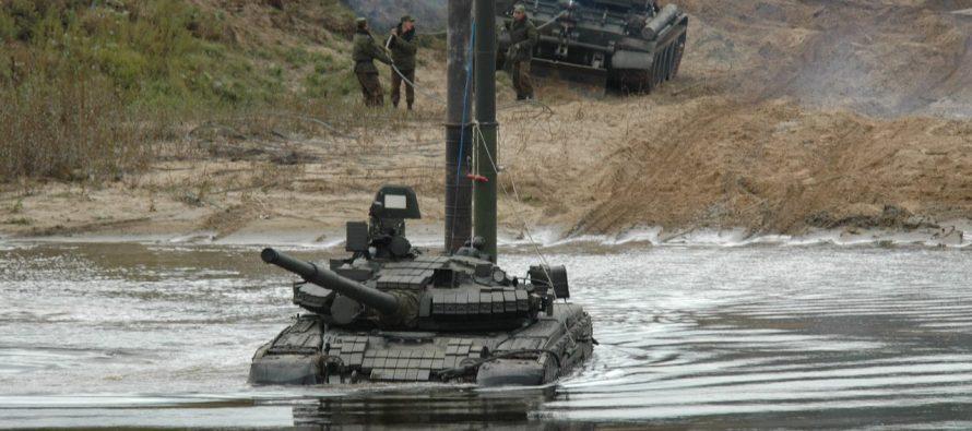Способность российских танков ездить под водой восхитила ветерана ВС США