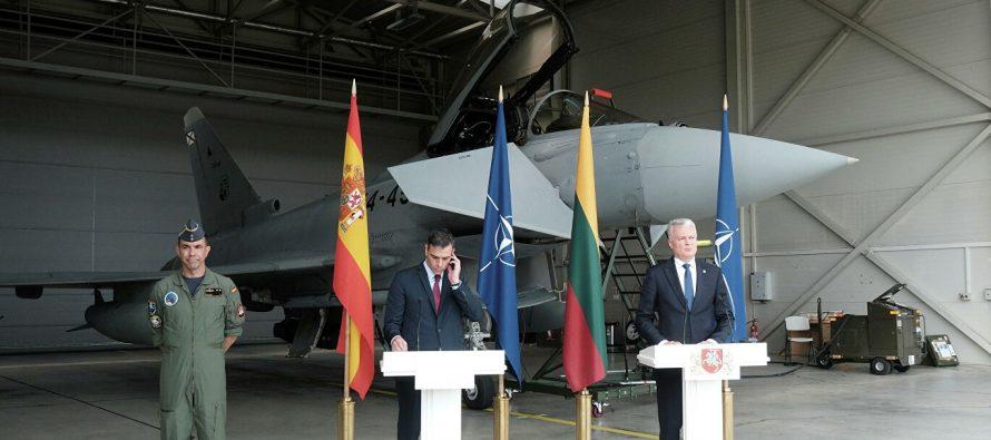 Леонков назвал низкопробным спектаклем истерику на авиабазе в Литве из-за российского истребителя