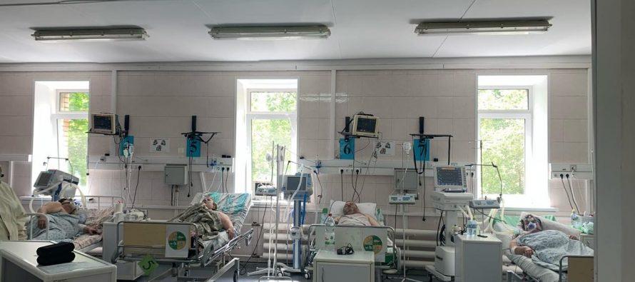 В двух рязанских больницах увеличат количество коек для пациентов с тяжелой формой Covid