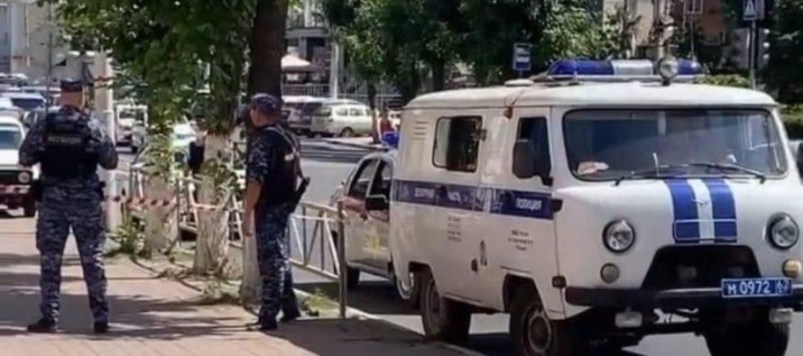 В центре Рязани эвакуировали здание из-за бесхозного предмета