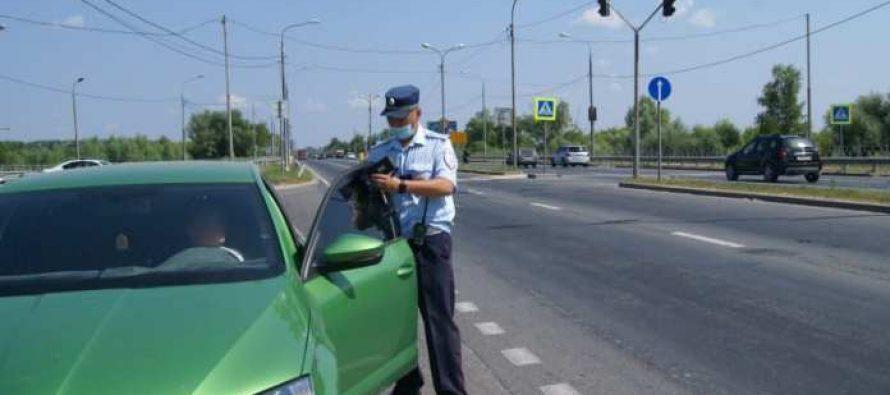 Всего за несколько часов полицейские Рязани выявили более 50 нарушений по тонировке