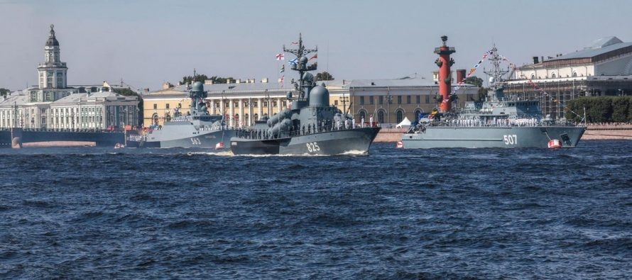 В Baijiahao рассказали, какой сигнал Россия направила Западу в День ВМФ