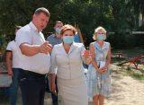Елена Сорокина проверила качество работ по благоустройству дворов в Рязани