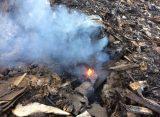 Рязанская мэрия обратилась в прокуратуру после очередного пожара на свалке в Турлатове